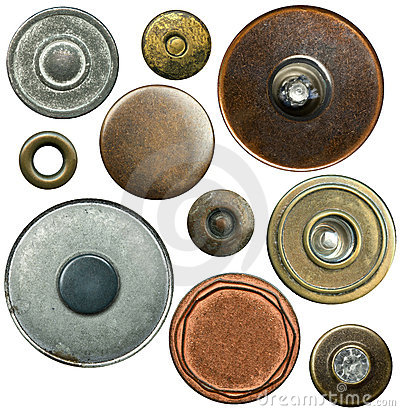 Free Jeans Buttons Stock Photography - 18150722
