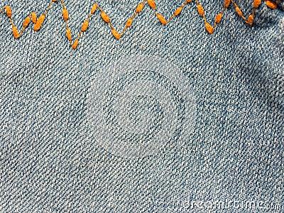 Jeans close up