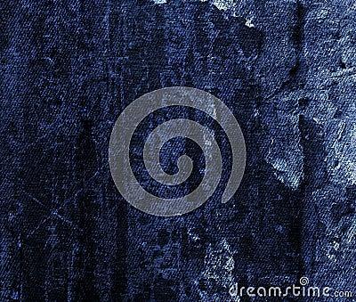 Jeans grunge texture