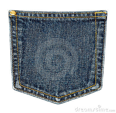 Free Jeans Pocket. Stock Photos - 16167383
