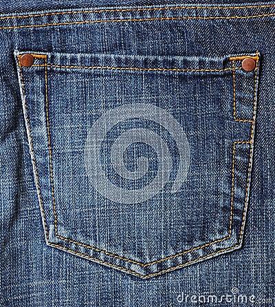 Free Jeans Pocket Royalty Free Stock Image - 2417386