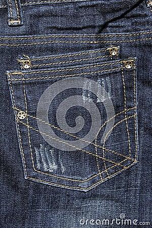 Free Jeans Pocket Royalty Free Stock Image - 3991356