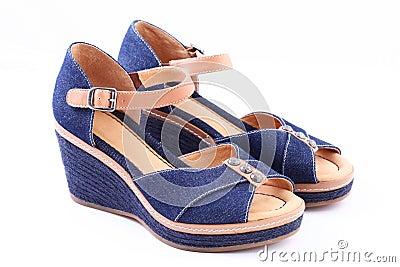Jeans retro shoes