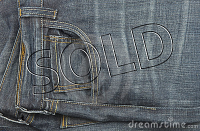 Jeans sale tag discount