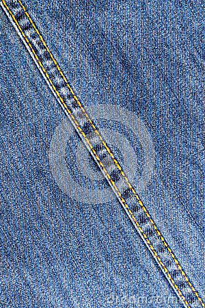 Free Jeans Seam Royalty Free Stock Photo - 30971105