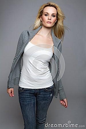 Jeans Sweater Woman
