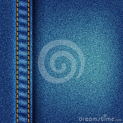 Jeans texture with stitch