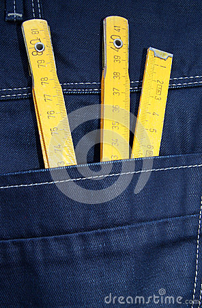 Jeans and tools