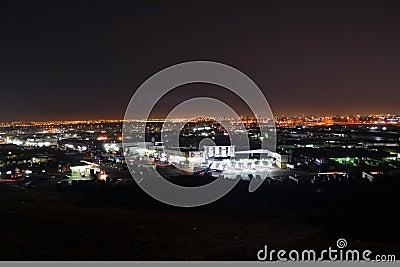 Jeddah  at night