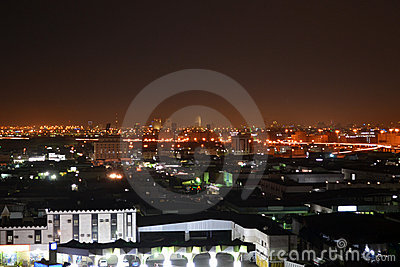 Jeddah  at night