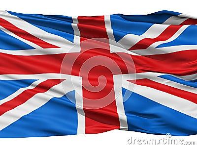 Jednoczący Britain królestwo chorągwiany wielki
