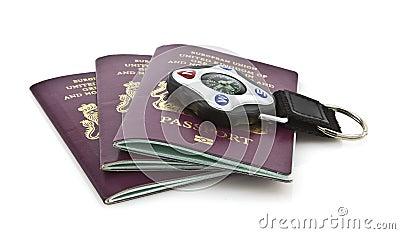 Jednoczący królestwo paszporty