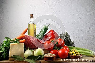 Jedzenie śródziemnomorski