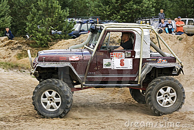 Jeep Editorial Image