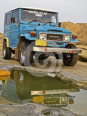 Jeep Editorial Stock Photo
