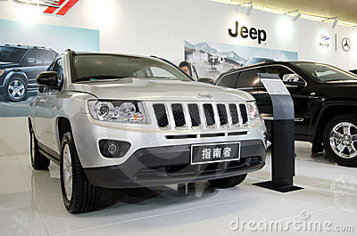 Jeep car on display Editorial Image