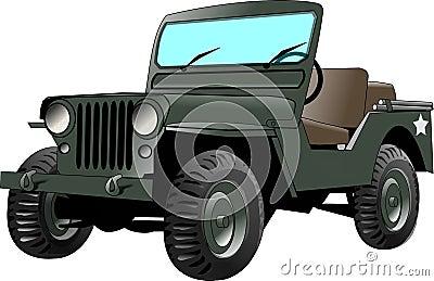 Jeep d armée