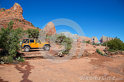 Jeeping Red Rock Country