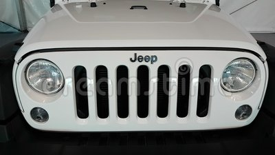 Jeep Front Grille video d archivio