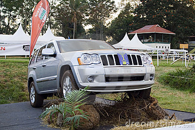 Jeep Grand Cherokee Editorial Photography
