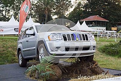 Jeep Grand Cherokee Editorial Photography