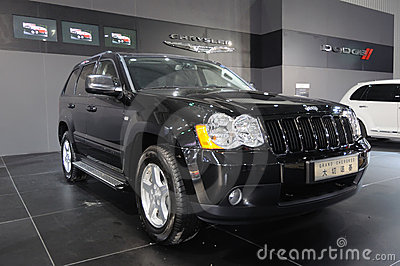 Jeep grand cherokee suv Editorial Image