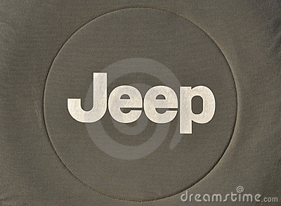 Jeep Logo Editorial Stock Image