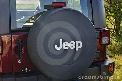 Jeep Logo Editorial Photography