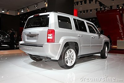 The Jeep Patriot Editorial Stock Image
