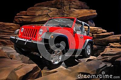 Jeep Rock Crawl
