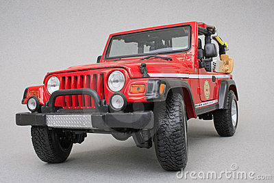 Jeep Rubicon Brush Fire Unit