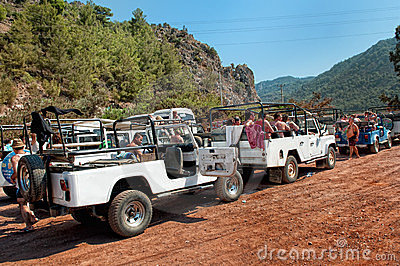 Jeep safari Editorial Photography