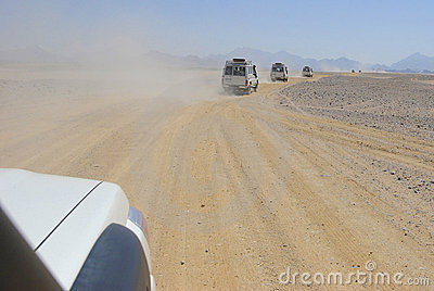 Jeep safari in Africa