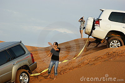 jeep safari in the sand dunes in dubai editorial photo. Black Bedroom Furniture Sets. Home Design Ideas