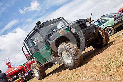 Jeep in srilanka Editorial Stock Photo