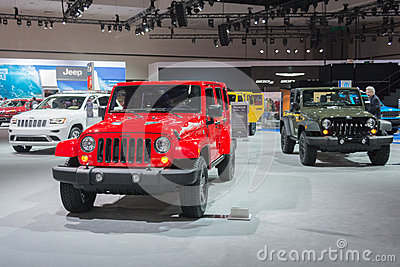 jeep stand at the la auto show editorial stock image image 47151664. Cars Review. Best American Auto & Cars Review