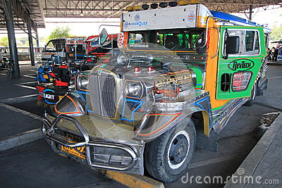 Jeepney Editorial Stock Photo