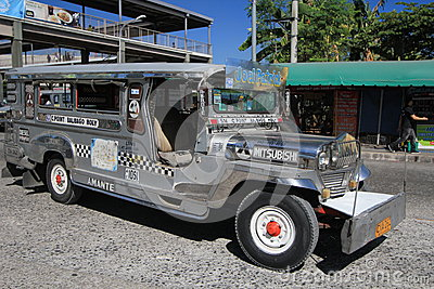 Jeepney Editorial Photo