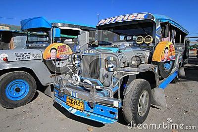 Jeepney Editorial Image