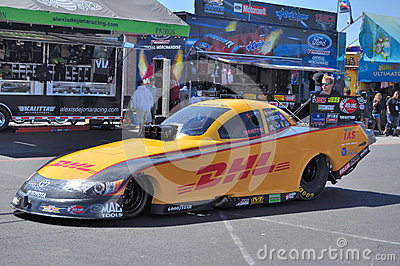 Jeff Arend Funny car Editorial Photography