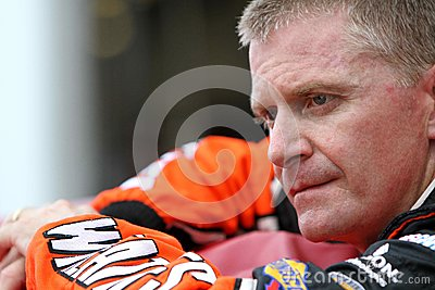 Jeff Burton Daytona Editorial Photo