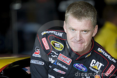 Jeff Burton drives through the Esses Editorial Stock Photo