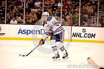 Jeff Petry Edmonton Oilers Editorial Photo