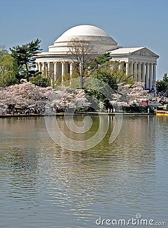 Jefferson Memorial on the Tidal Basin