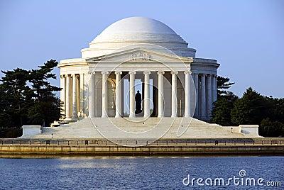 Jefferson minnesmärke thomas