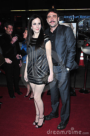 Jeffrey Dean Morgan, Mary - Louise Parker Editorial Image