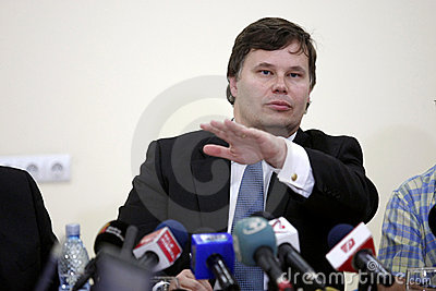Jeffrey Franks, IMF Mission Chief for Romania Editorial Image
