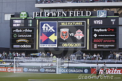 Jeld-Wen Field Editorial Stock Image