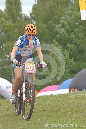 Jelenia G�ra, Poland, June 30, 2013 - Maja Wlosz Editorial Stock Image