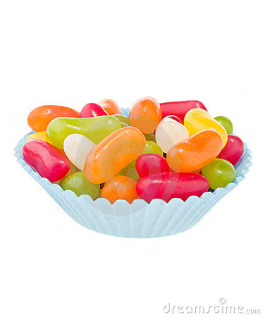 Free Jelly Beans Royalty Free Stock Photography - 22704957